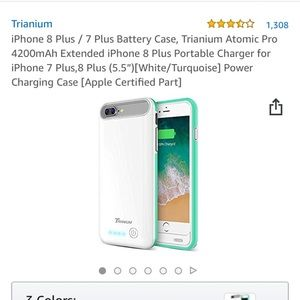 Accessories - iphone 7/8 charging case